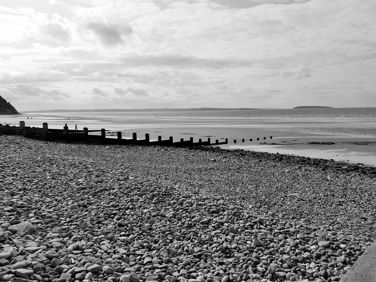North Wales Penmaenmawr Beach