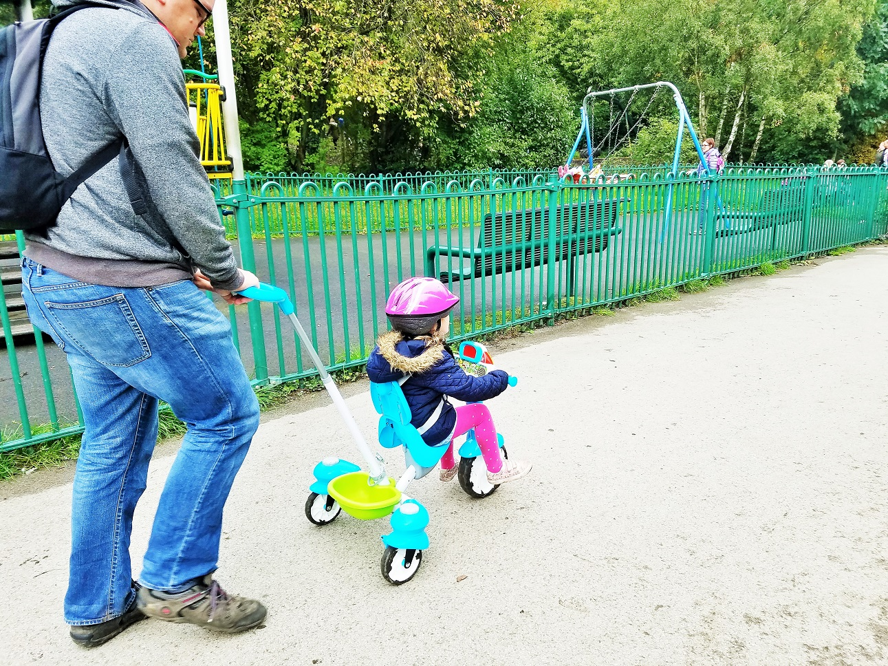 VTech Tour De Trike Oakwell Hall playground