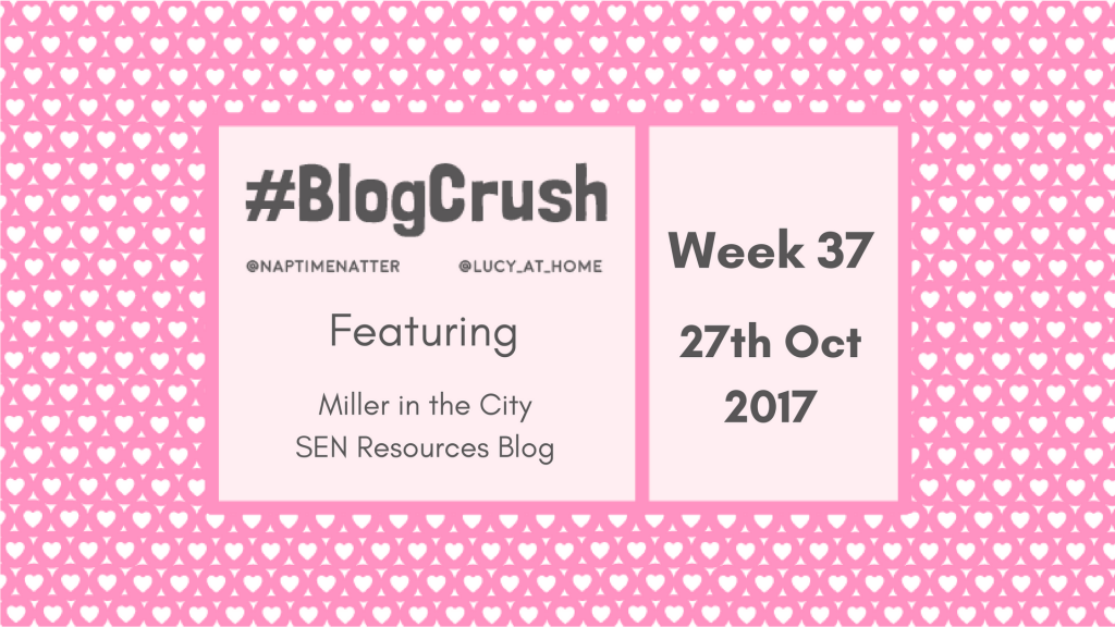 BlogCrush Week 37 – 27th Oct 2017