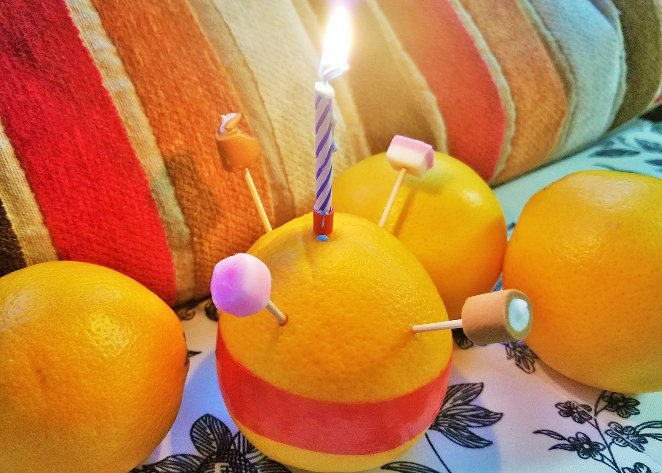 Simple Christingle talk BlogCrush Week 42