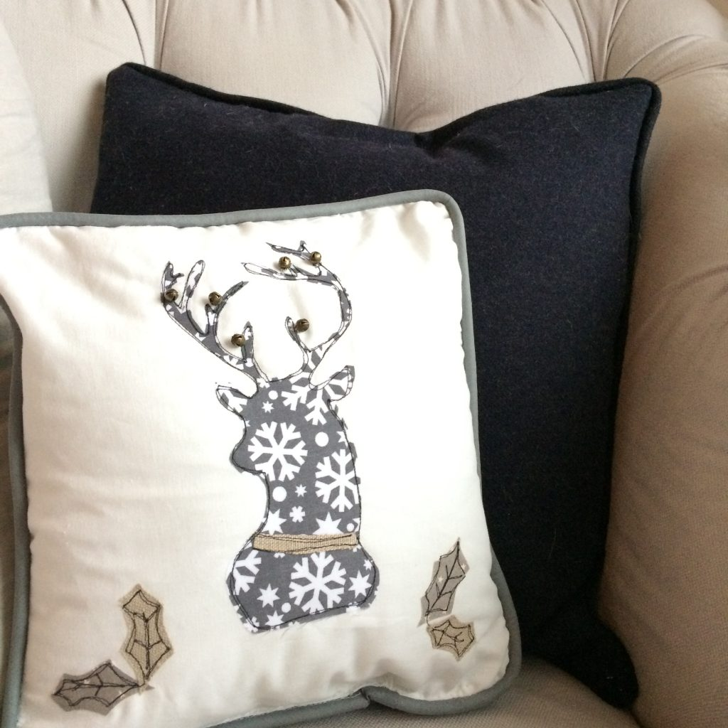 Walter & May Stag Head Cushion Christmas Gift Guide