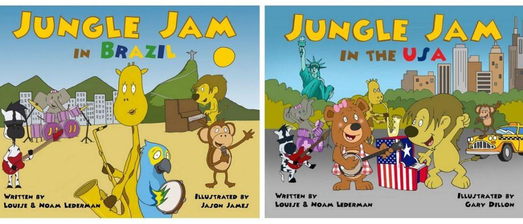 Creative Kids Gift Guide Jungle Jam Music Books