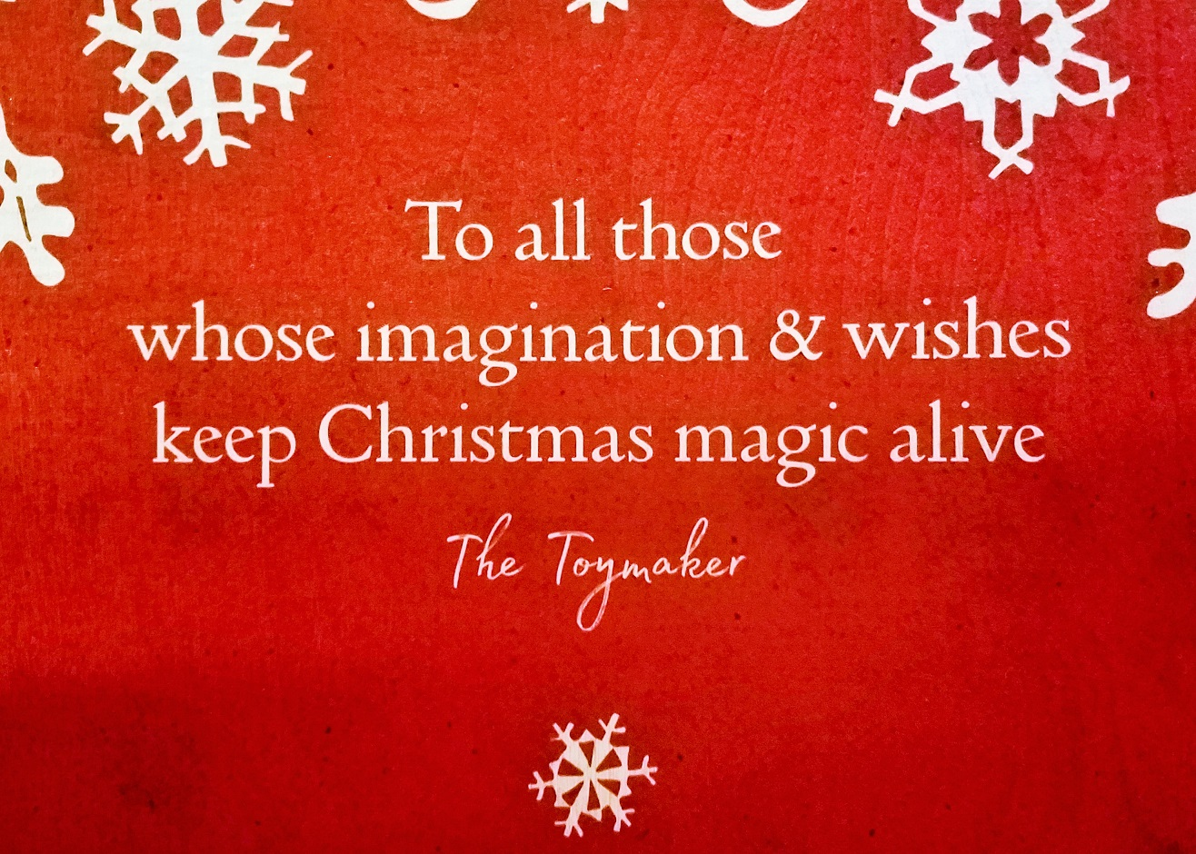 Lapland UK Quote about Christmas Magic Wishes