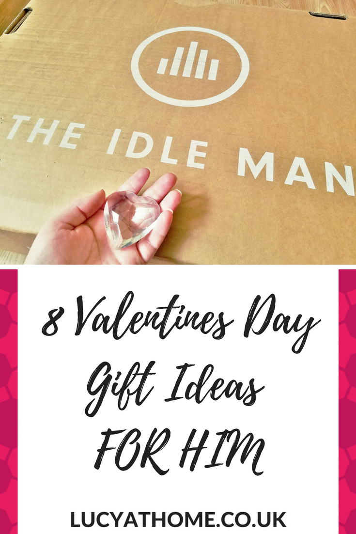 8 Valentines Day Gift Ideas FOR HIM from The Idle Man - top fashion picks as valentines gifts for him