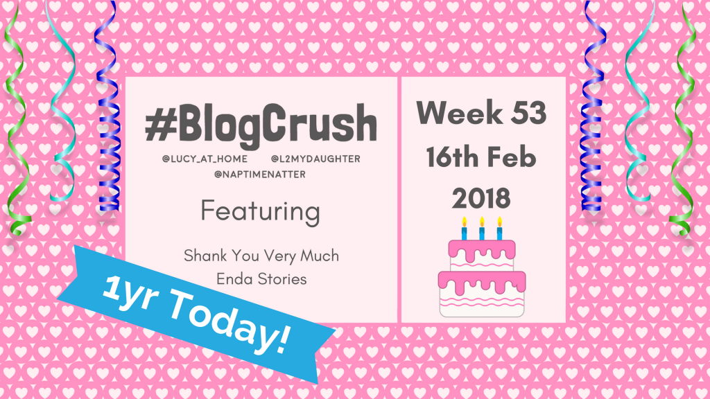 BlogCrush Week 53 – 16th Feb 2018