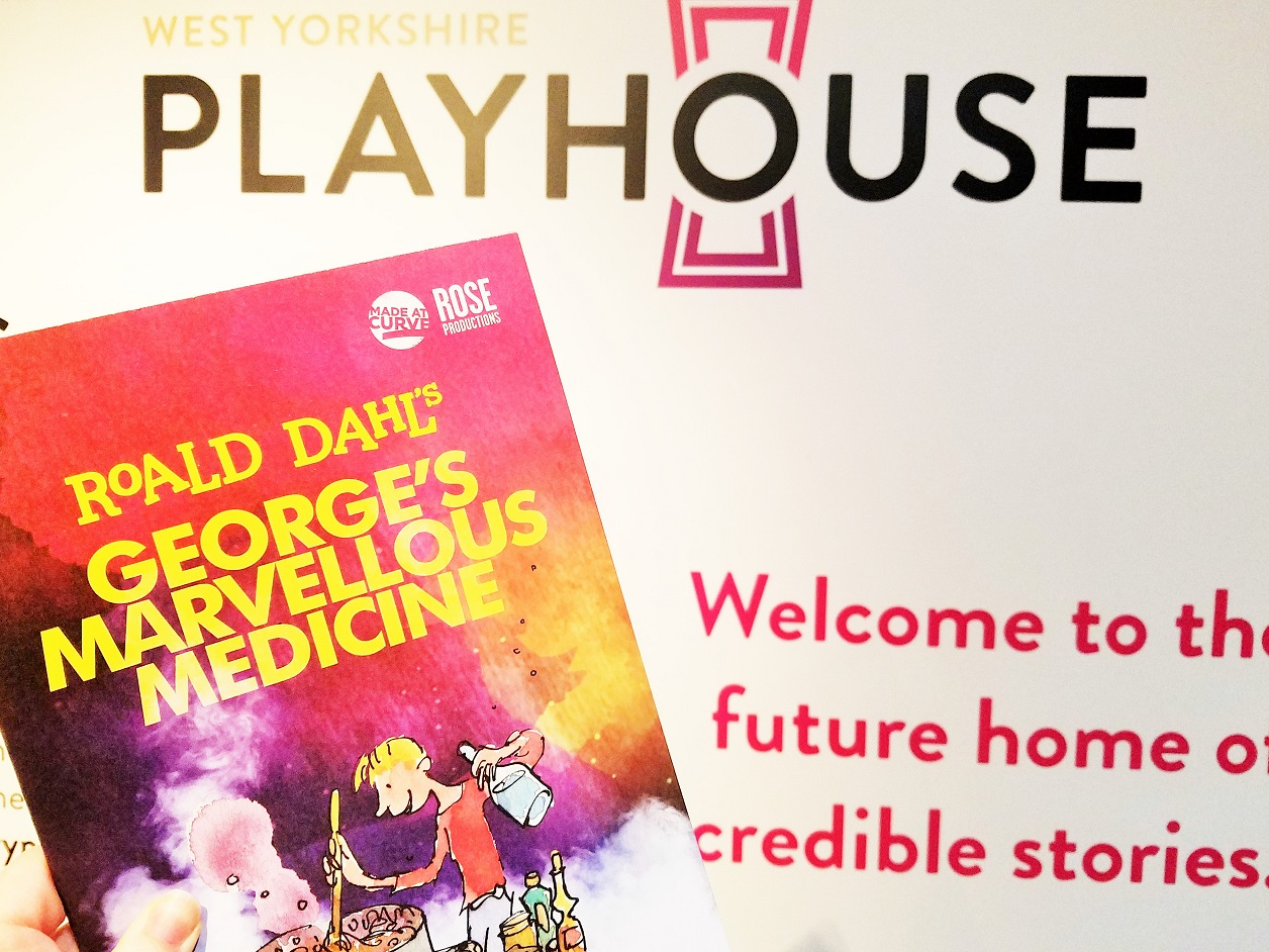 George's Marvellous Medicine stage production programme at West Yorkshire Playhouse Leeds BlogCrush Week 57