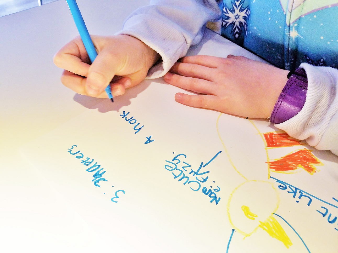 The quickest and easiest storytelling formula for kids - child writing a story