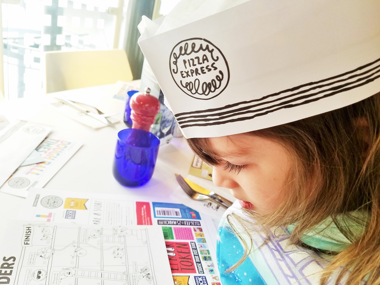pizza express storytelling workshop with scribblers HQ