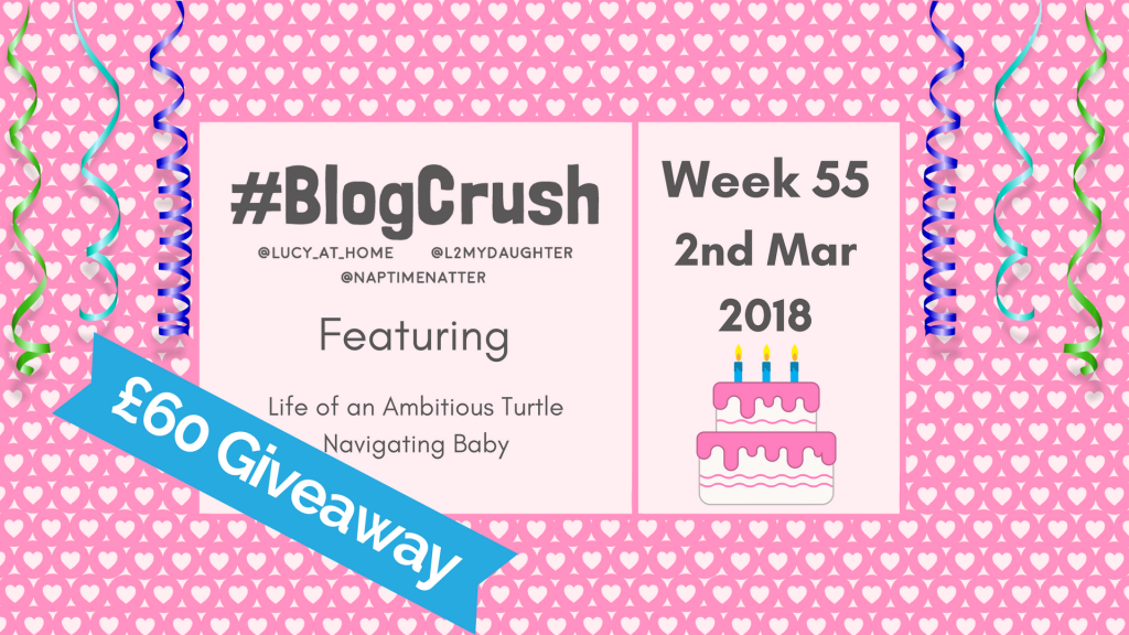 BlogCrush Week 55 – 2nd March 2018