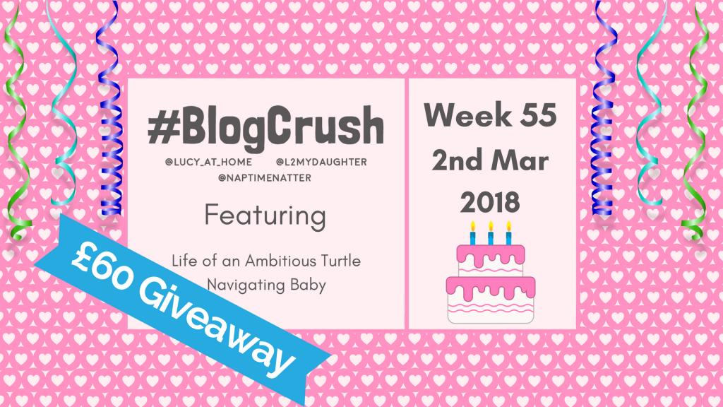 BlogCrush Week 55 – 2nd March 2018