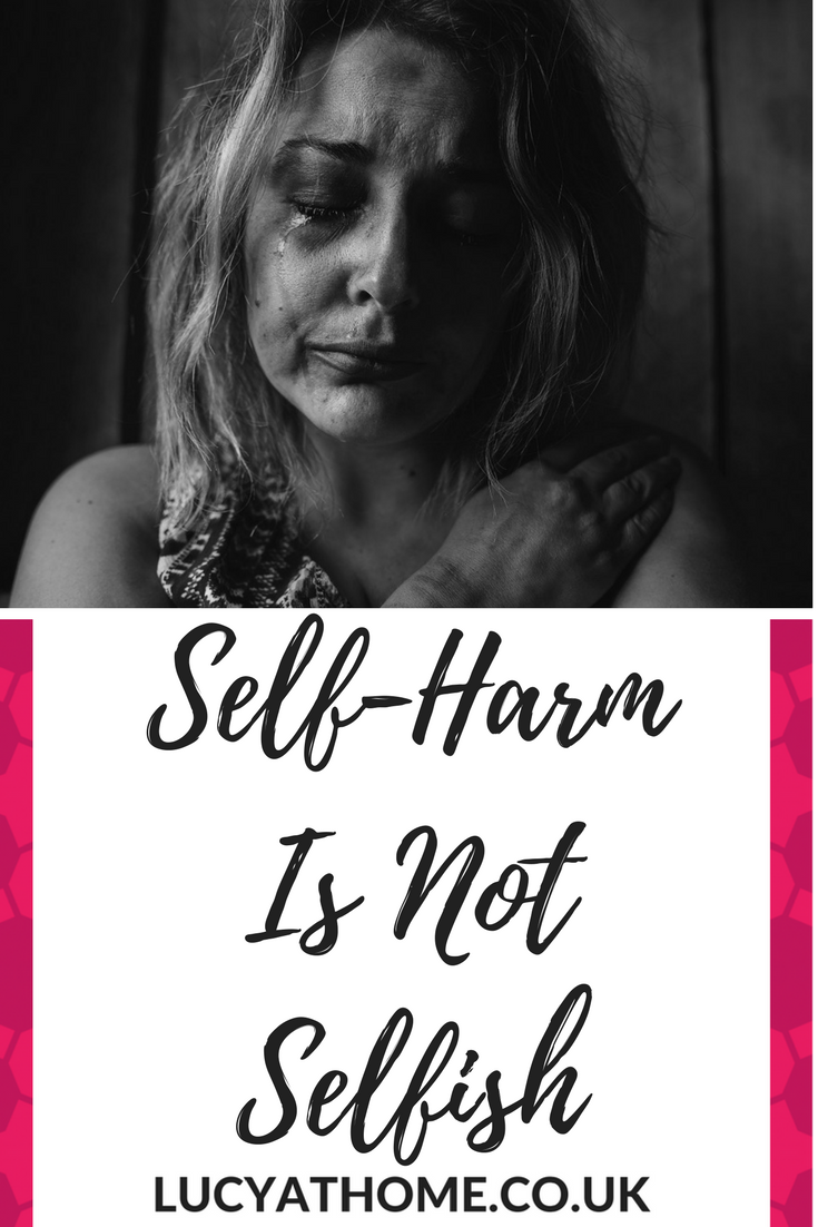 Self-Harm Is Not Selfish - self-harm recovery is possible and you are not to blame. Mental health issues are complex - you cannot just snap out of it and you are not doing it for attention. I know because I've been there - here is my story.