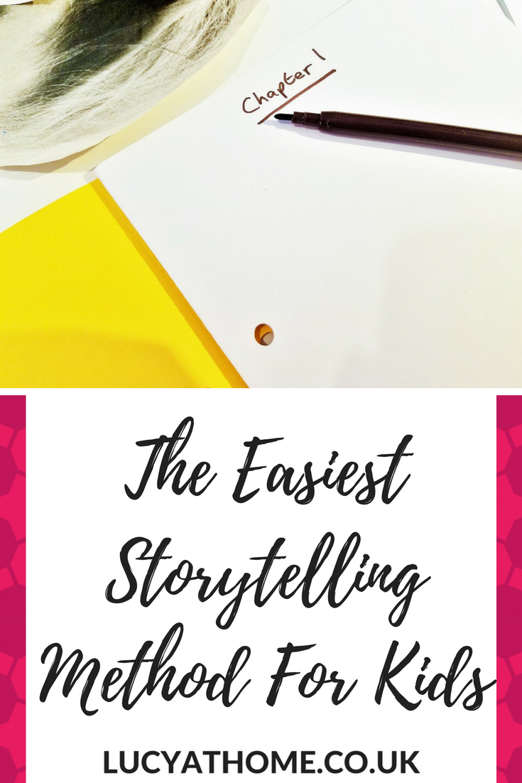 The Quickest and Easiest Storytelling Method for Kids EVER - storytelling for kids can be tricky whent hey don'#t know ehere to start, but breaking it down into manageable chunks helps to drive the story and inspire them. This easy storytelling method for kids aged 7-12 years old is a great world book day activity and a great way to get children writing
