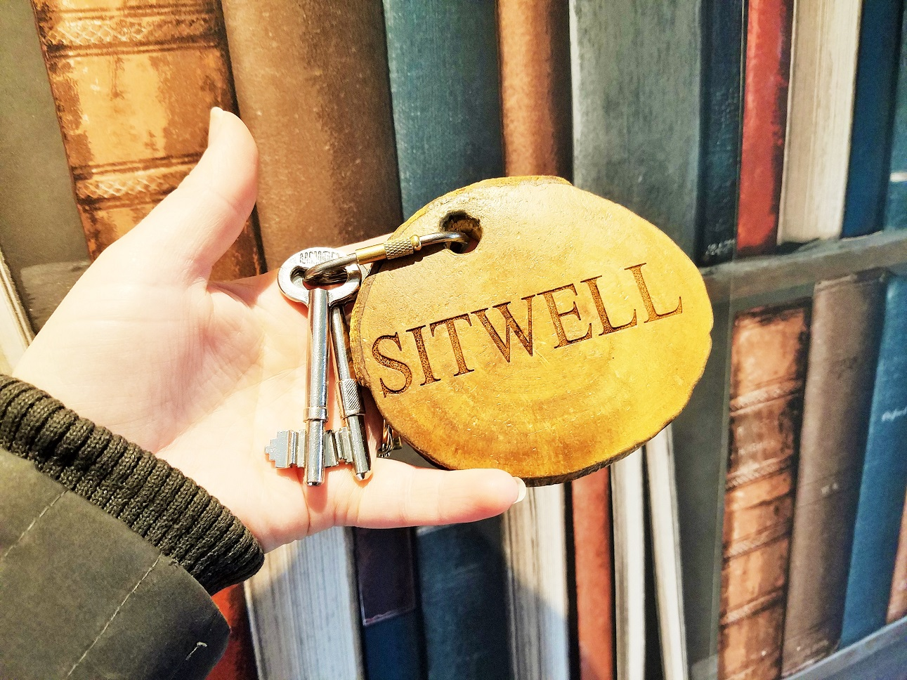 The decor in the Sitwell Suite at North Star Club is inspired by Yorkshire Poet, Edith Sitwell