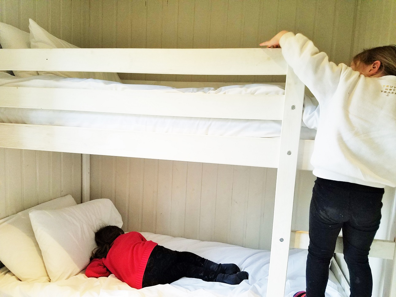 Bunk beds at North Star Club