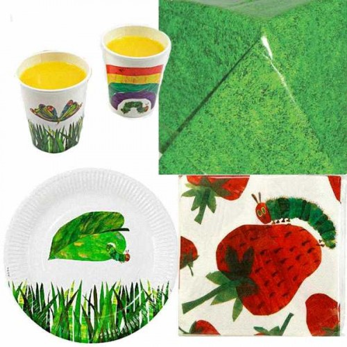 Kids' Party Ideas - Tablewear The Very Hungry Caterpillar