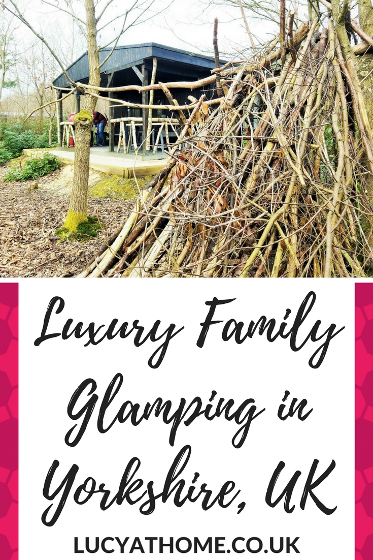 Luxury Family Glamping in Yorkshire UK - if you're an outdoor family, you're going to want to try glamping and the North Star Club is a beautiful glamping site in East Yorkshire decked out with fairy lights and a communal camp fire area - a true family friendly holiday #glamping