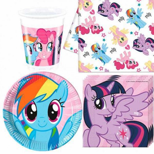 Kids' Party Ideas - Tablewear My Little Pony