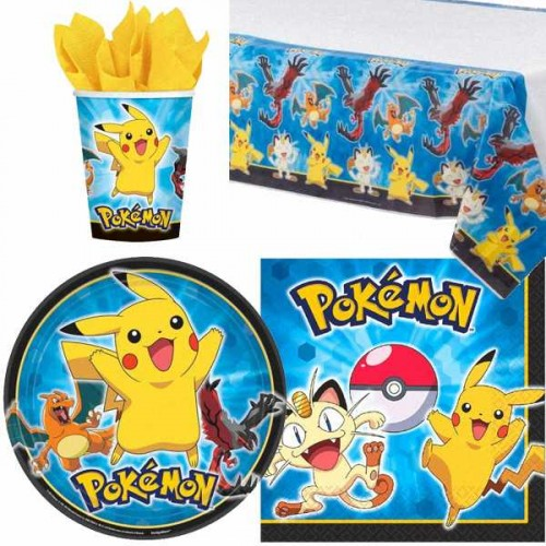 Kids' Party Ideas - Tablewear Pokemon