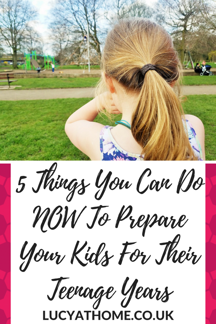 5 Things You Can Do NOW To Prepare Your Kids For Their Teenage Years - teenager posts about anxiety, teenagers facing social media pressure, respectful parenting, preparing children for the future