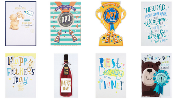 dads to grandads gift guide for Father's Day 2018 - Hallmark Father's Day Cards Collage