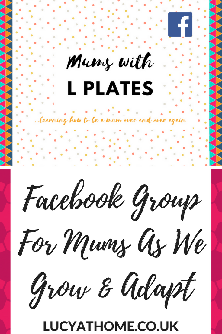 Mums With L Plates Facebook Group For Mums As We Grow And Adapt - every time we think we're getting the hang of it, the kids reach a new stage - this is a support network for mums as we work out way through mum life and parenting #mumlife