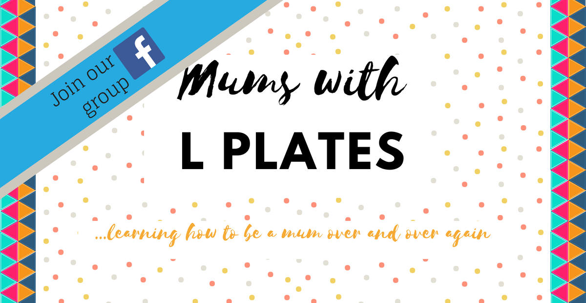 Mums With L Plates Facebook Group