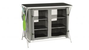 Camping buyer's guide - sturdy camping storage - double cupboard camping