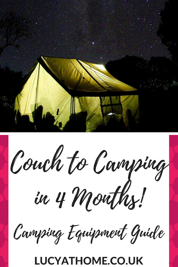 camping buyer's guide - if you're going camping with kids you're going to need this essentials camping equipment list as it covers everything you need to go camping on a budget and breaks it down into month by month purchases #campinghacks