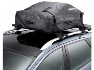 Camping buyer's guide - cheap roof box - HandiHoldall Roof Box - soft roof box storage