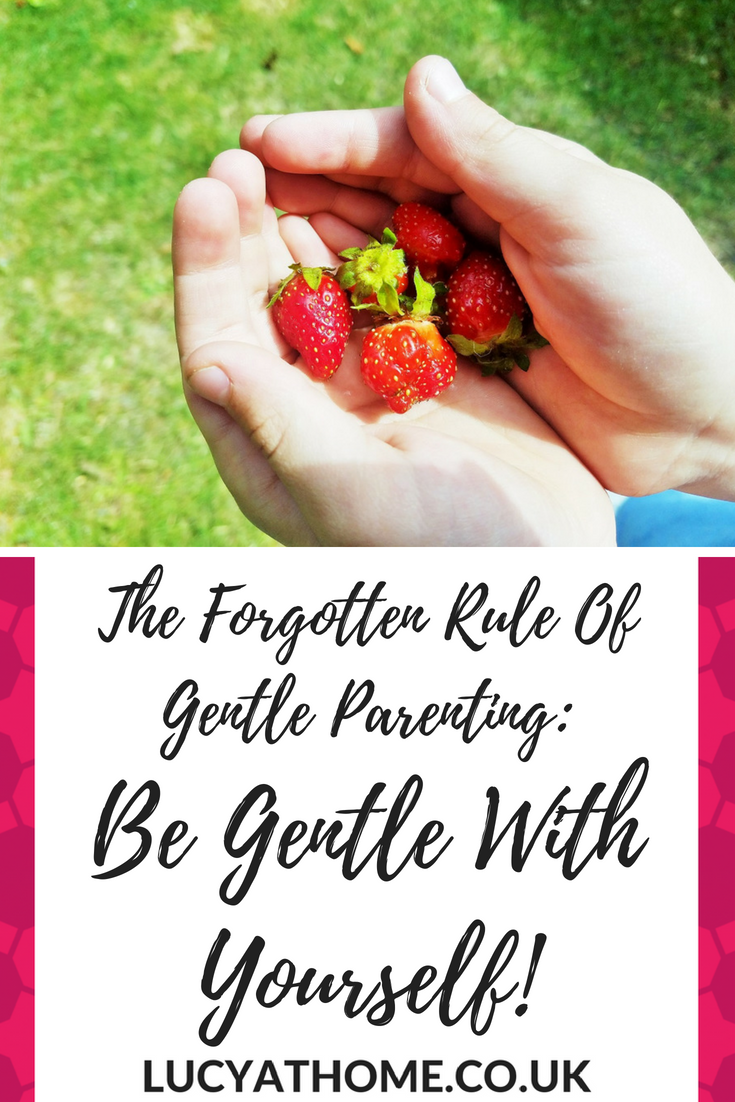 The forgotten rule of gentle parenting - be gentle with yourself! You are worthy, you are valuable. Becoming a parent doesn't mean you don't matter anymore or make you perfect. Be kind to yourself just as you are kind to your kids. Gentle parenting tips and techniques that involve self care for mums #gentleparenting