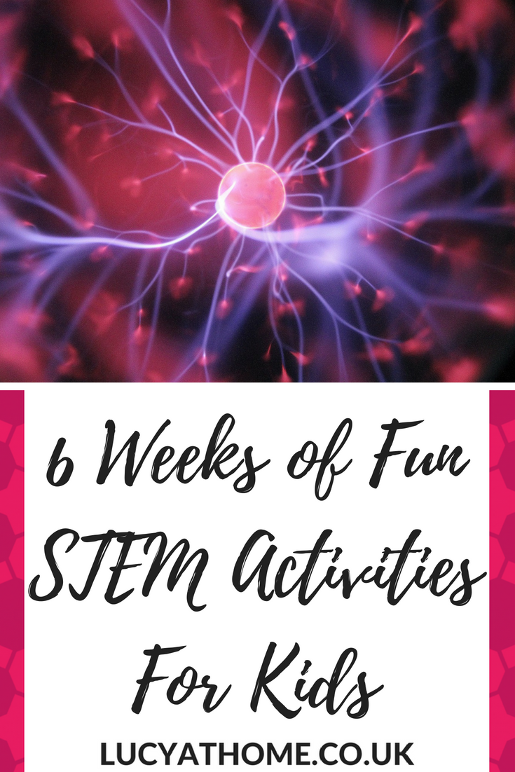 6 Weeks of Fun STEM Activities For Kids - here are 30 STEM activities for youth that will get you sailing through the school holidays with lots of school holiday activities summer #stem