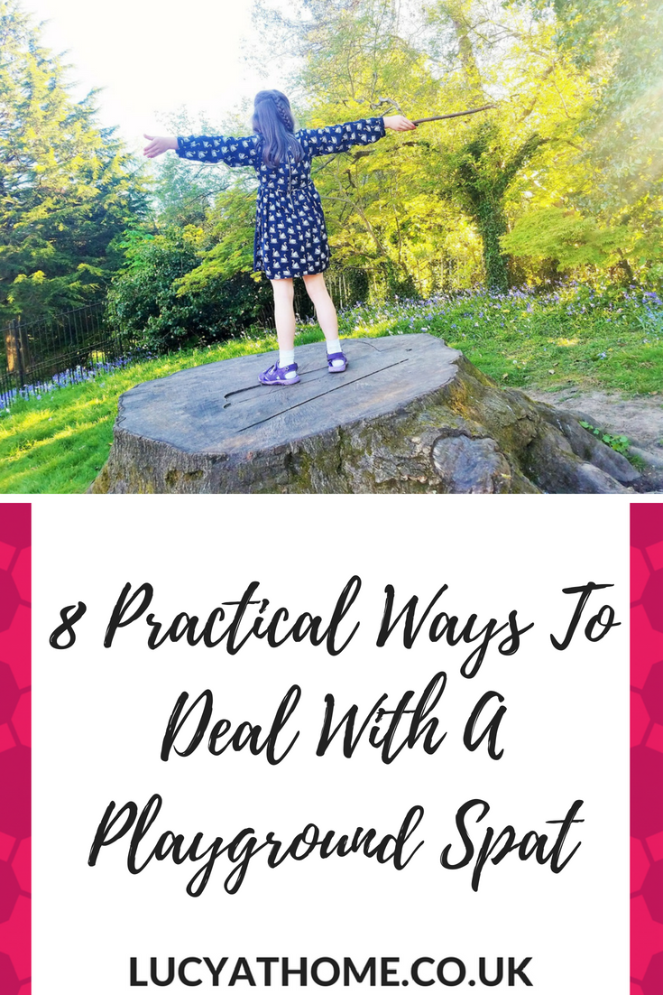8 Practical Ways To Deal With A Playground Spat - unkind friends and cliques can make school life and school friends difficult for kids. Here are 8 practical gentle parenting techniques to support your child through a playground spat or falling out with their friends #schoolproblems