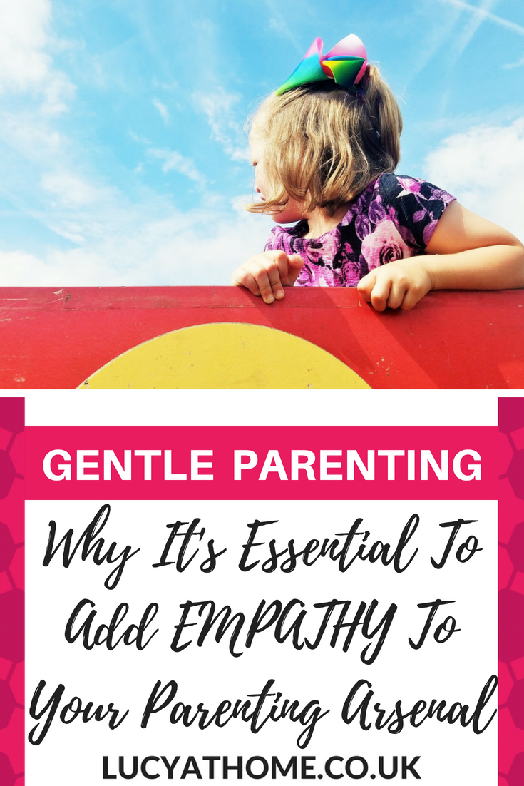 Why It's Essential To Add Empathy To Your Parenting Arsenal - empathetic people are trustworthy and get alongside others. That's why empathy is so important for parents. Read this post to find out how to use empathy in parenting #empathy #gentleparenting