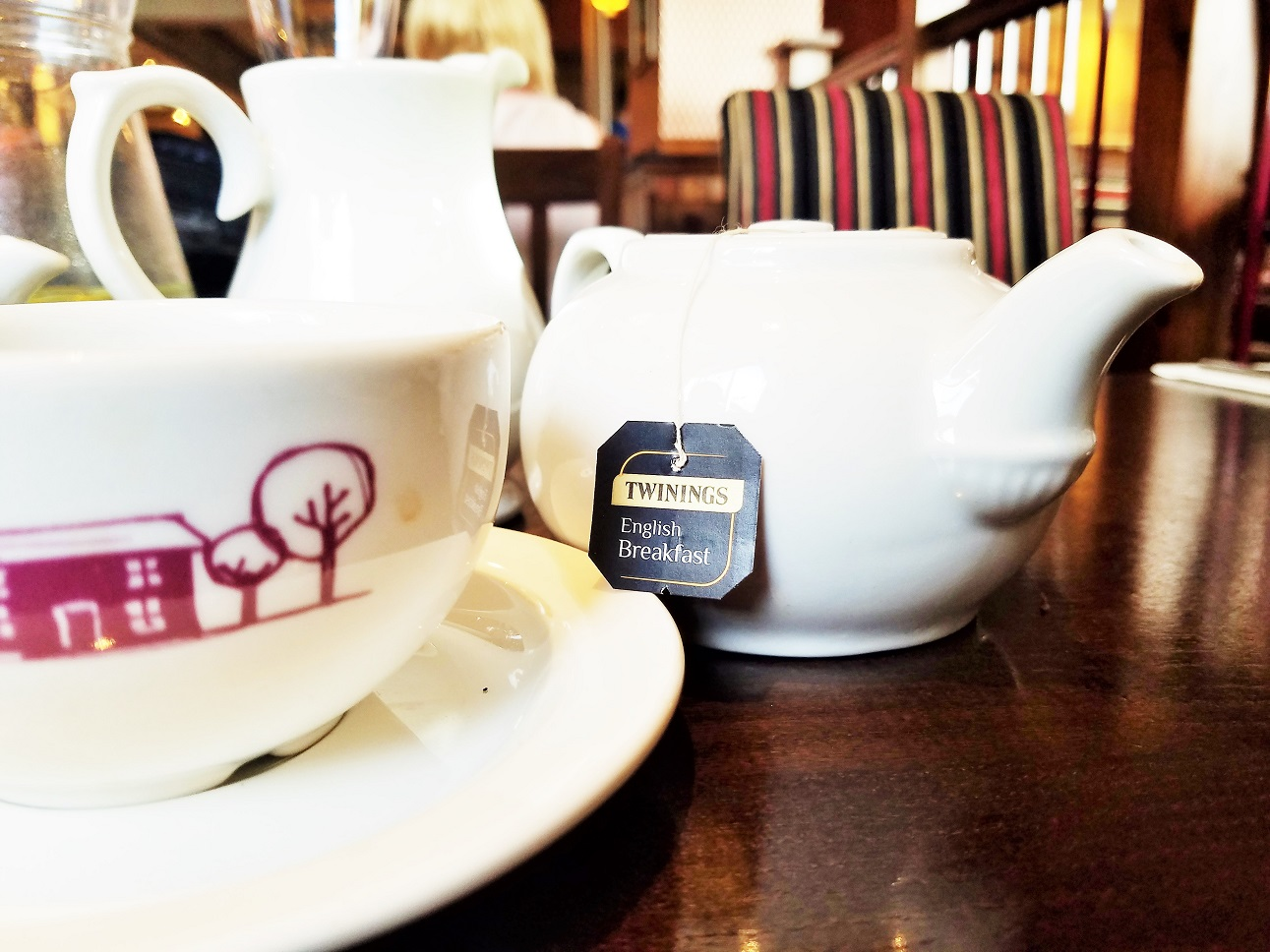 Yorkshire Afternoon Tea - Twinings Tea in a teapot