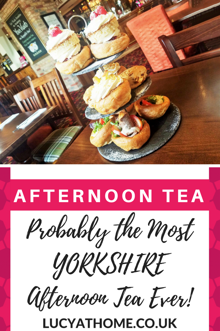 Probably The Most Yorkshire Afternoon Tea Party Ever - if you're looking for afternoon tea ideas you're going to love this one based on Yorkshire Puddings #afternoontea