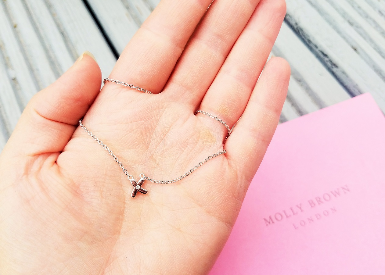 Diamond Necklace for young girl from Molly Brown London