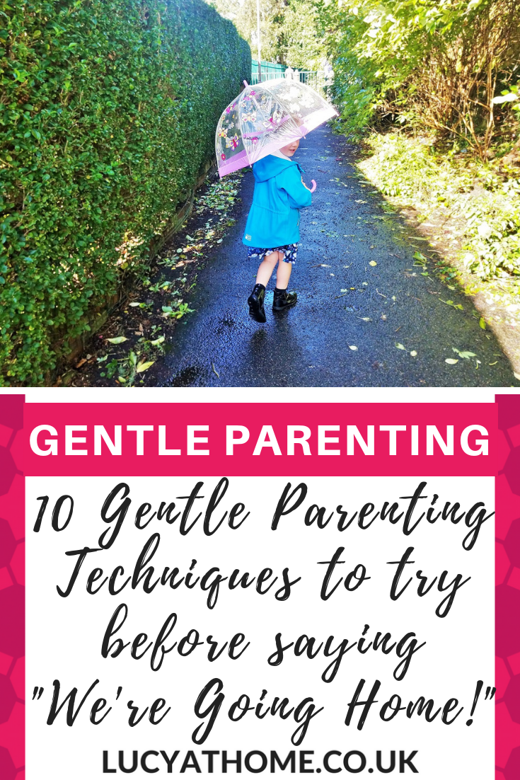 10 Gentle Parenting Techniques To Try Before Saying We're Going Home - it's so important to build trust in relationships and earn kids respect, otherwise you end up in a power struggle with kids. Empty threats will certainly not help - consistency is key. Check out these #gentleparenting techniques instead for parenting success