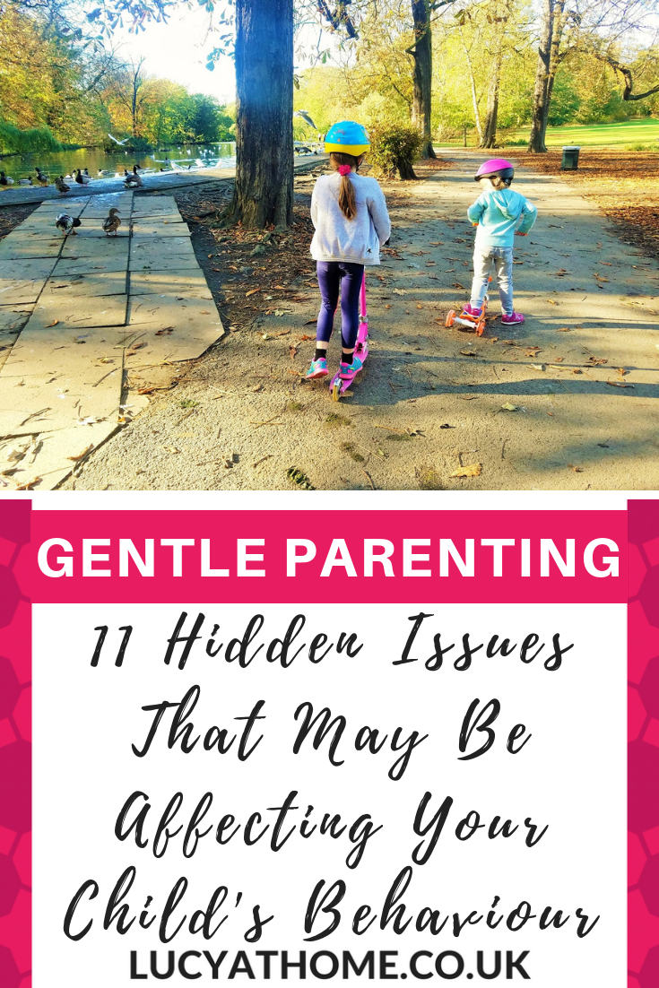 11 Hidden Issues That May Be Affecting Your Child's Behaviour - is your child struggling with new baby jealousy? Perhaps they've got friendship problems at school? Maybe they're going through a phase and you don't know the reasons for their tantrums? Well here are 11 possible reasons that you might not have considered AND 4 ways to start tackling these behavioural issues #gentleparenting