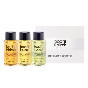 Treat her to a gift she'll love this Christmas - bodhi birch body oils mini collection