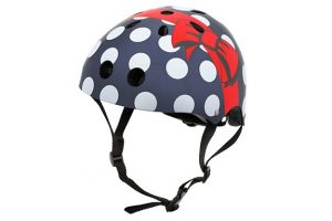 Christmas Gifts For Curious Kids - polka dot bike helmet with bow
