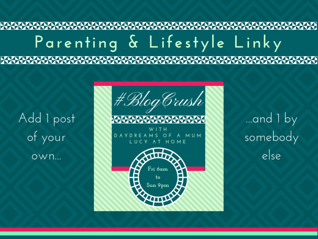 BlogCrush Linky Concept - Lucy At Home Gentle Parenting blogger