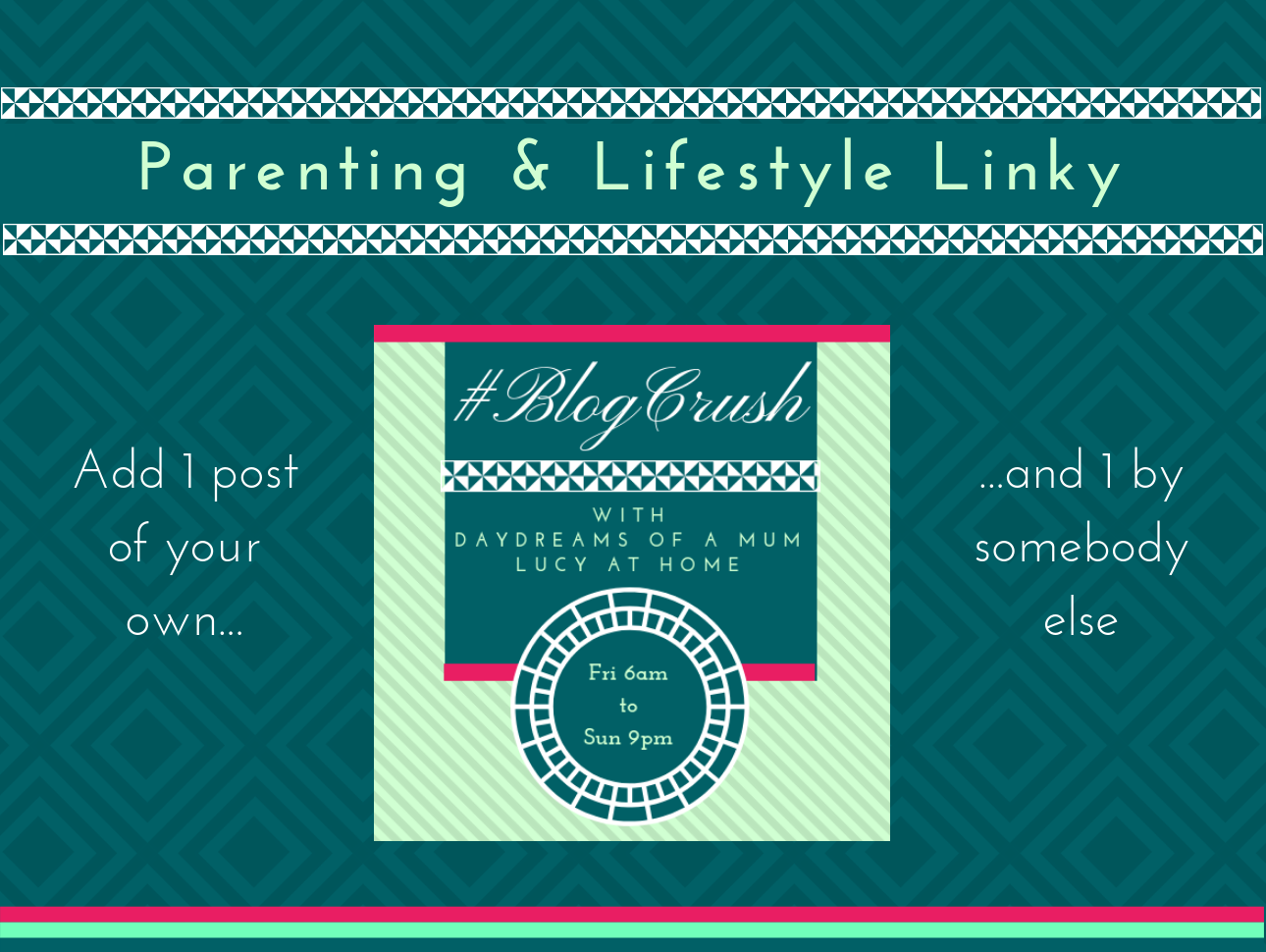 BlogCrush Linky Concept - BlogCrush Week 101