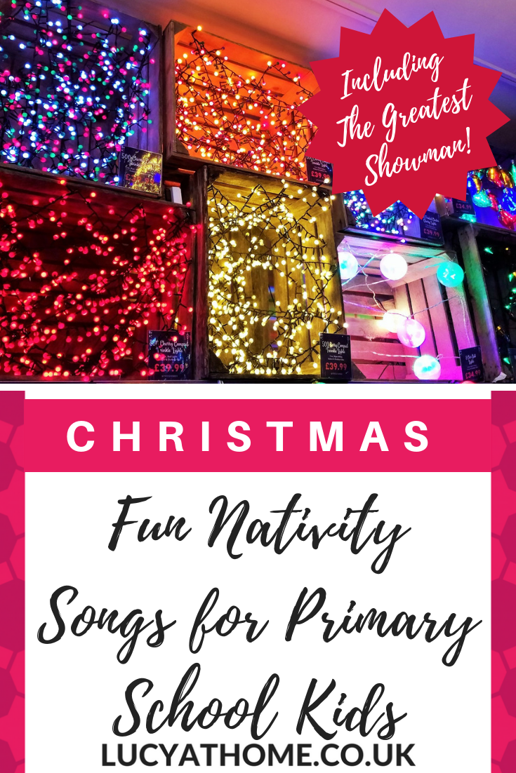 Fun Nativity Songs for KS2 kids - 2 christmas songs for children to well-known tunes (The Lion King and The Greatest Showman) to get your christmas concert going, as well as some other fun songs to try