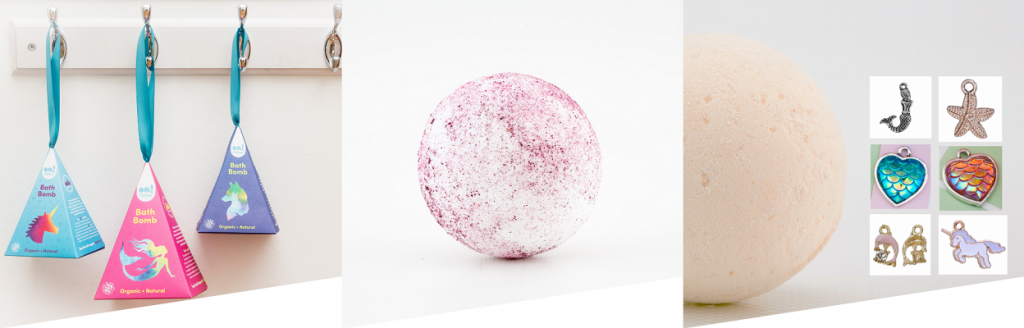what to buy for curious kids this christmas - ON Juniper bath bombs for kids