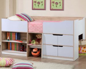 Christmas presents for curious kids - paddington oak cabin bed