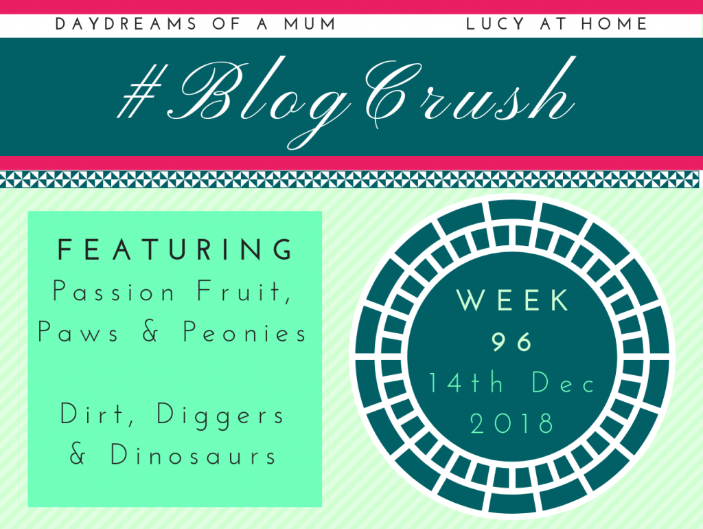 BlogCrush Week 96 – 14th December 2018