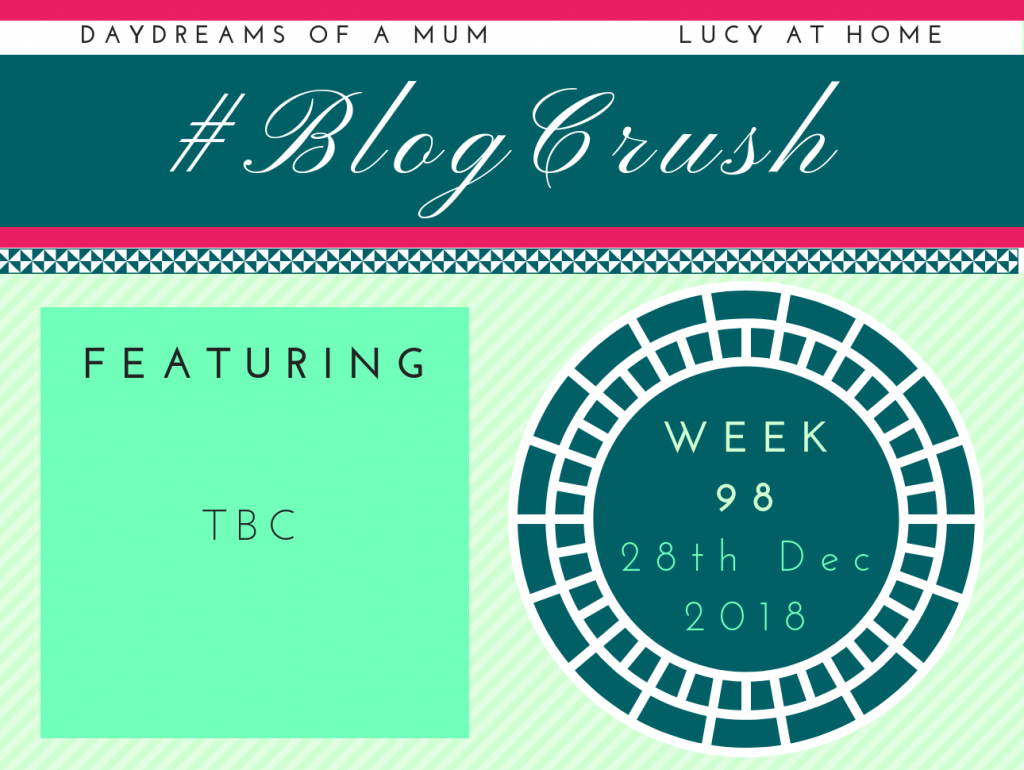 BlogCrush Week 98 – 28th December 2018