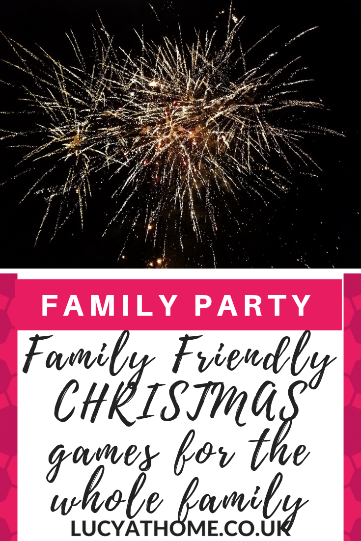 Family Friendly Christmas Games for a Family party - 9 fun party games some that are Christmas themed games for the whole family, young and old, including christmas quiz questions, mr and mrs game, and scavenger hunt ideas #christmasparty #familypartygames