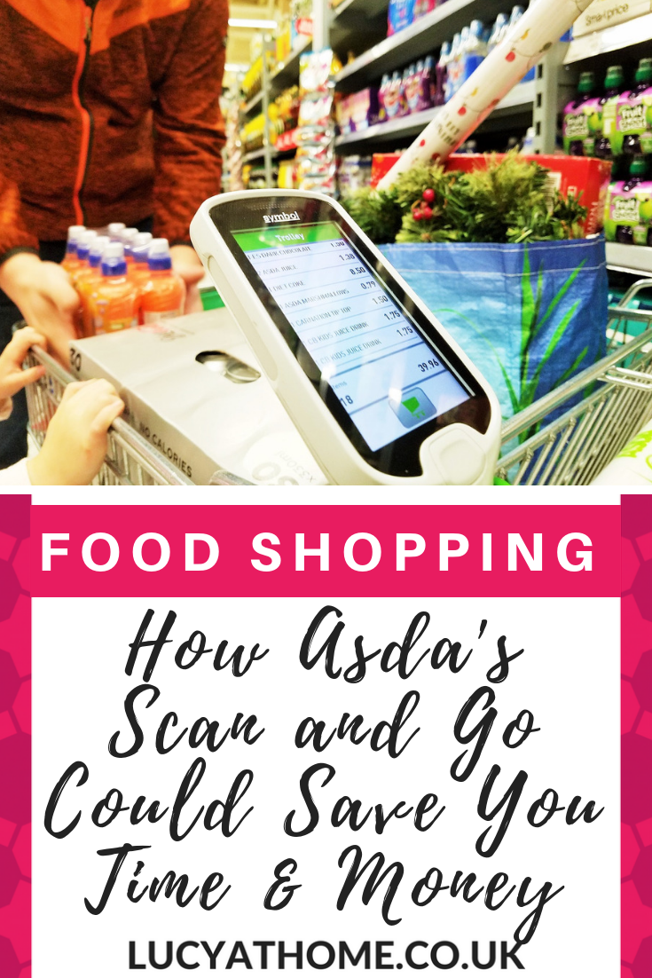 #ad How Asda's Scan and Go Could Save You Time and Money - doing the supermarket shop with kids in tow is hard work but the scan and go is efficient and the running total means that you do your food shopping on a budget because you can see the running total #foodshopping #asda