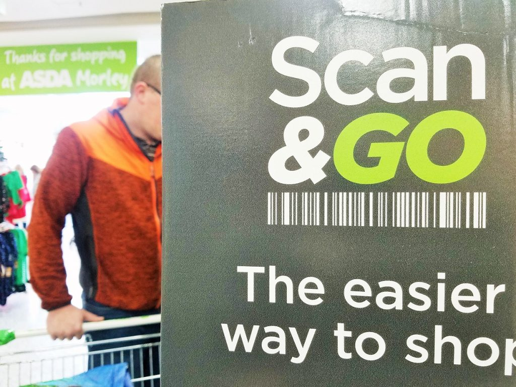 Our Christmas Scan and Go Challenge from Asda